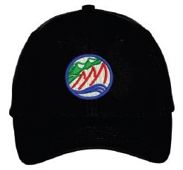 Black CGRA Embroidered Hat