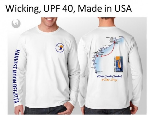 long sleeve shirt with map and art