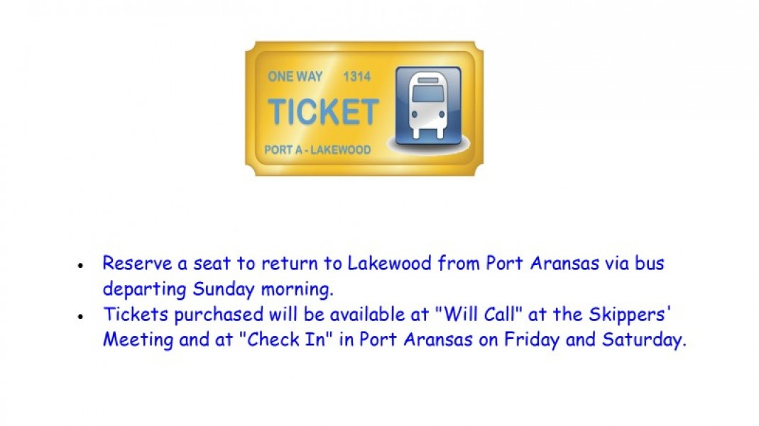 Return Bus Ticket