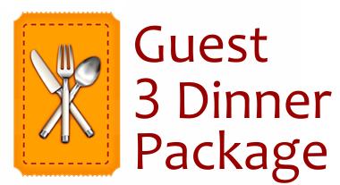 Guest Dinner Ticket