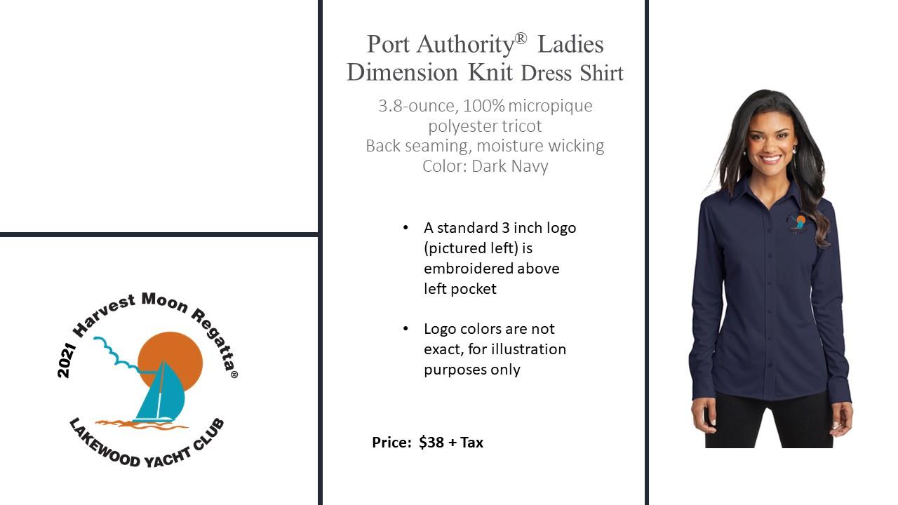 Ladies Port Authority Dimension Dress Shirt