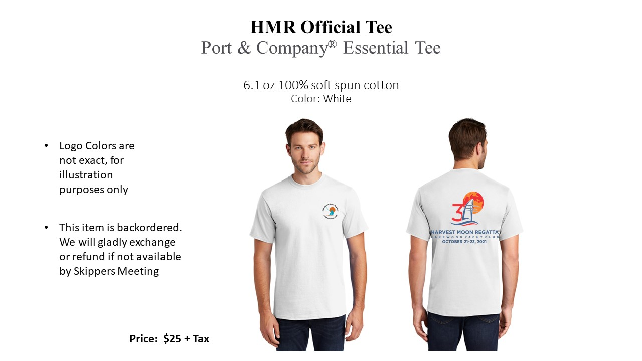 2021 Official White Tee