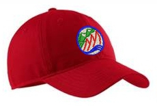 Red CGRA Embroidered Hat